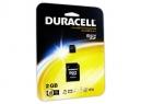 MEMORIA MICRO SD 2GB+ADAPT SD-MINI SD DURACELL
