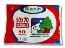BOLSA BASURA 50 X 70 BIOMAS 10 UNID. 1.9MM
