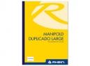 LIBRETA MANIFOLD DUPLICADO LARGE RHEIN