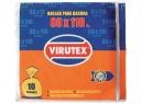 BOLSA BASURA 80 X 110 VIRUTEX 10 UNID.