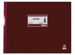 LIBRO ACTAS 100 HJ.BUHO 174 APAISADO
