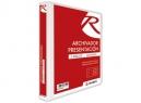 ARCHIVADOR CARTA C/PRES.2 AROS 1.0 BL RHEIN