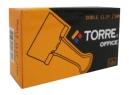 DOBLE CLIPS NEGROS 1- 25MM X 12UN TORRE