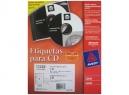 ETIQUETA AVERY 15692 CD BL MATTE LASER 10HJ 20UD