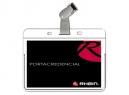 PORTACREDENCIAL C/MINICLIPS RHEIN CX25 UDS 7.2X10C