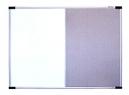 PIZARRA MAGNETICA DATAZONE BLANCA/TELA 90X120CM
