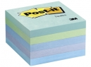 NOTA POST-IT 654-5AQ 3M MEDIANO CUBO AQUA X 5 UND.