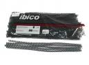 ESPIRALES ENCUAD.08MM NEGRO X 100 UD.IBICO 58 PAS