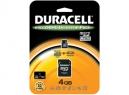 MEMORIA MICRO SD 4GB+ADAPT SD-MINI SD DURACELL
