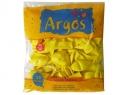 GLOBOS N° 9 ARGOS LISO COLOR AMARILLO X 50 UD