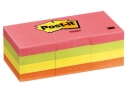 NOTA POST-IT 653AN 3M CHICO NEON (12 BLOCK X 100HJ