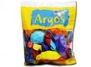 GLOBOS N°12 ARGOS LISO COLORES SURTIDOS X 50 UN.