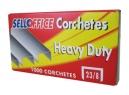 CORCHETES 23/ 8 DE 1000