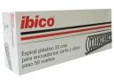 ESPIRALES ENCUAD.16MM NEGRO X 50 UD.IBICO 58 PAS