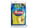 GUANTES LATEX VIRUTEX SUPERIOR L AMAR. AFELPADO