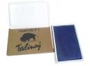 TAMPON TALINAY N°1 AZUL PLASTICO 8.5 X 15.0 CMS