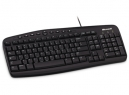 TECLADO MICROSOFT PS2 NEGRO MULTIMEDIA WIRED 500