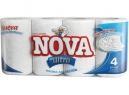 TOALLA PAPEL 4 ROLL. 16 MT. NOVA H/DOBLE