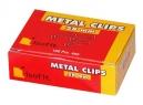 CLIPS ISOFIT METAL 28 MM PTA.REDONDA 100 UDS