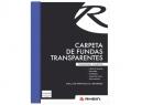 CARPETA C/FUNDA RHEIN BUCH CARTA (10 FUNDAS)