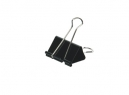 DOBLE CLIPS NEGROS 1.1/4- 32MM X 12UN ADIX