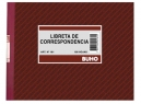 LIBRETA CORRESPONDENCIA 100 HJ.BUHO 181