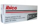 ESPIRALES ENCUAD.10MM NEGRO X 100 UD.IBICO 58 PAS