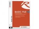 CARPETA BASIC FILE PP A4 BLANCO/TRANSPA RHEIN