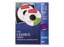 ETIQUETA AVERY 8694 CD TRANSP.GLOSSY 40UD INKJET