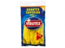 GUANTES LATEX VIRUTEX SUPERIOR M AMAR. AFELPADO