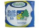 BOLSA BASURA 80 X 110 BIOMAS 10 UNID.