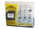 FAJA LUMBAR POWER BELT (CERTIFICADA) TALLA XL